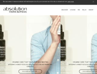 shop.absolution-cosmetiques.com screenshot