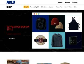 shop.aclu.org screenshot