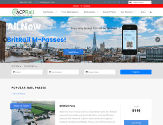 shop.acprail.com screenshot