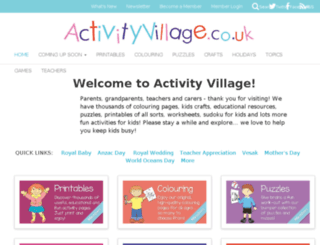 shop.activityvillage.co.uk screenshot