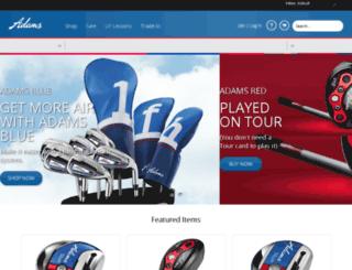 shop.adamsgolf.com screenshot