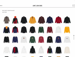 shop.aimeleondore.com screenshot