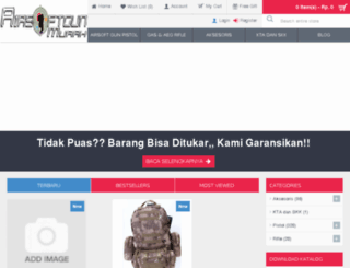 shop.airsoftgunmurah.co.id screenshot