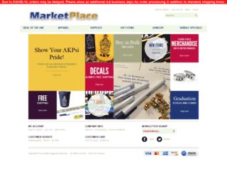 shop.akpsi.org screenshot