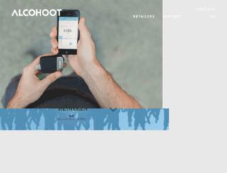 shop.alcohoot.com screenshot