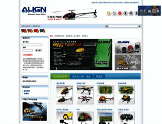 shop.align.com.tw screenshot