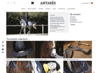 shop.antares-sellier.com screenshot