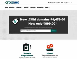 shop.arbaneo.com screenshot