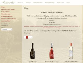shop.arringtonvineyards.com screenshot