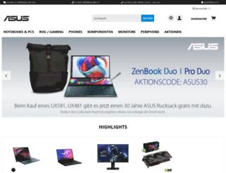 shop.asus.de screenshot