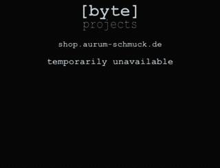 shop.aurum-schmuck.de screenshot