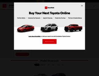 shop.autonationtoyotacerritos.com screenshot