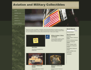 shop.aviationmilitary.com screenshot