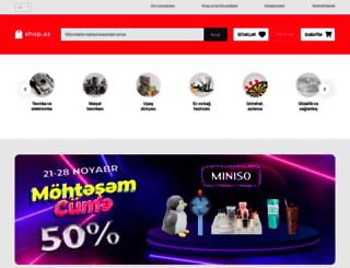 shop.az screenshot