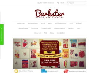 shop.barkster.co.uk screenshot