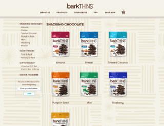 shop.barkthins.com screenshot