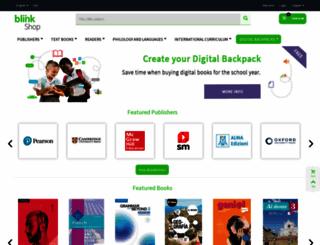 shop.blinklearning.com screenshot