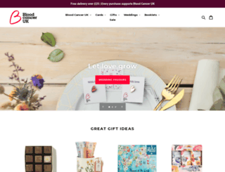 shop.bloodwise.org.uk screenshot