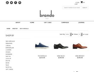 shop.brando.com.au screenshot