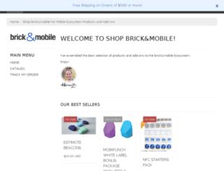shop.brickandmobile.com screenshot