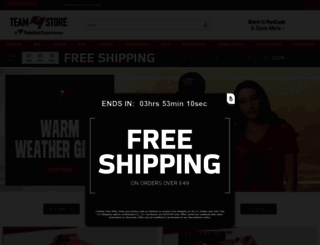 shop.buccaneers.com screenshot