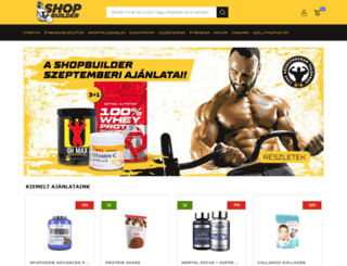 shop.builder.hu screenshot
