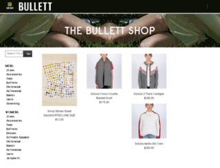 shop.bullettmedia.com screenshot
