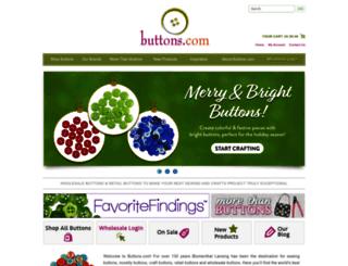 shop.buttons.com screenshot