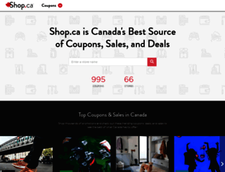 shop.ca screenshot