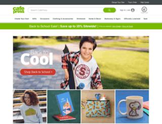 shop.cafepress.com screenshot