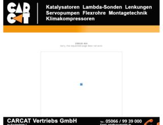 shop.carcatgmbh.de screenshot
