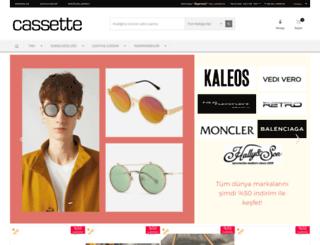 shop.cassette.com.tr screenshot