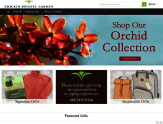 shop.chicagobotanic.org screenshot