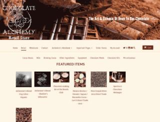 shop.chocolatealchemy.com screenshot
