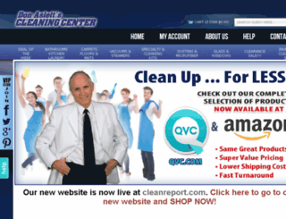 shop.cleanreport.com screenshot