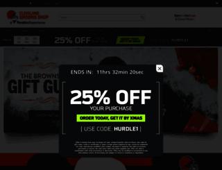 shop.clevelandbrowns.com screenshot