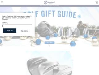 shop.clevelandgolf.com screenshot