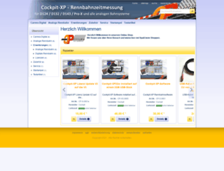 shop.cockpit-xp.de screenshot