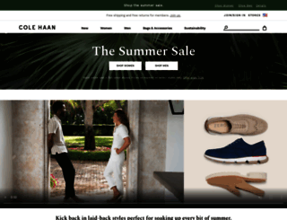 shop.colehaan.com screenshot