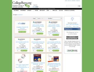 shop.collegebuys.org screenshot