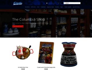 shop.columbiarestaurant.com screenshot