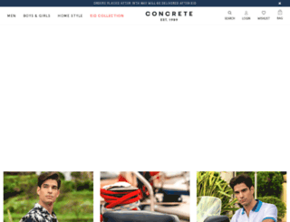 shop.concrete.com.eg screenshot