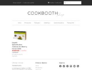 shop.cookbooth.com screenshot