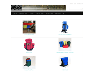 shop.cookecustomsewing.com screenshot