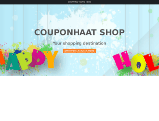 shop.couponhaat.in screenshot