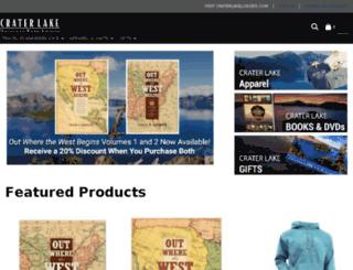 shop.craterlakelodges.com screenshot