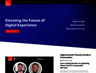 shop.crowdfavorite.com screenshot
