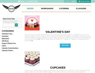 shop.cupcakecentral.com.au screenshot