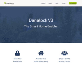 shop.danalock.com screenshot