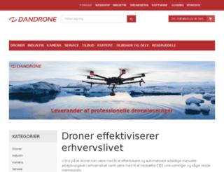shop.dandrone.dk screenshot